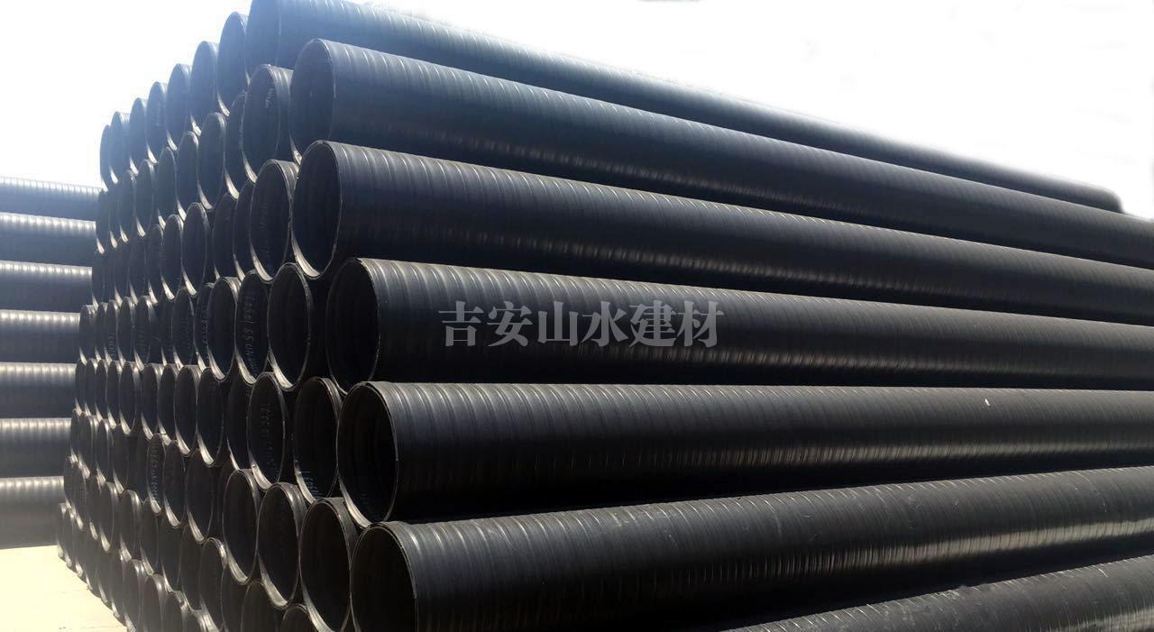 HDPE双平壁钢塑复合管