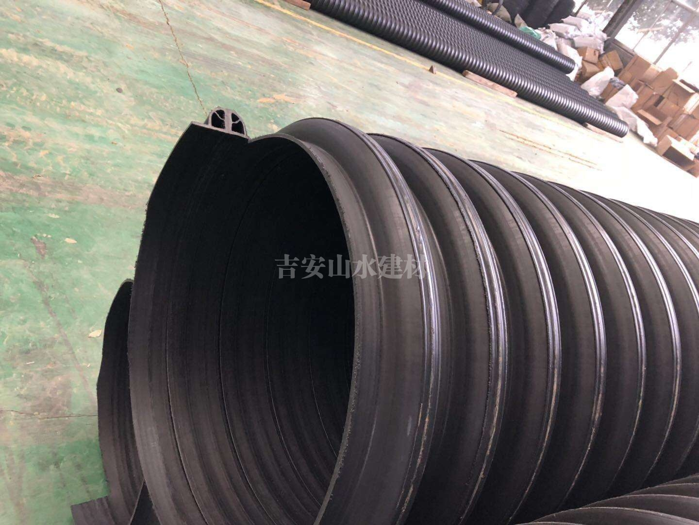 HDPE多助增强缠绕管